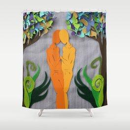 Summer kiss 1 Shower Curtain