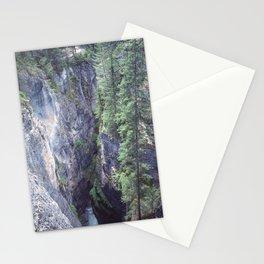 Maligne Canyon 1 Stationery Cards
