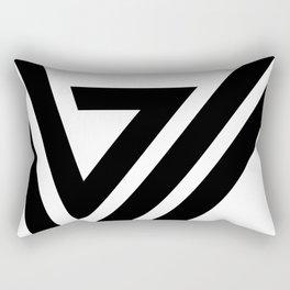 Hello X Rectangular Pillow