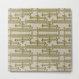 Africa Patterns Metal Print