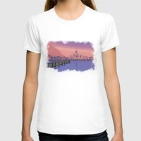 skyline T-shirts featuring Skyline  by Astralview