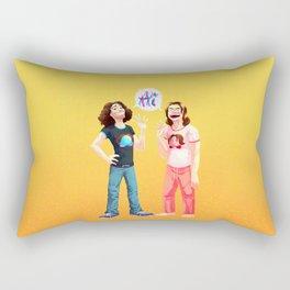 Game Grumps love to say Hi Rectangular Pillow