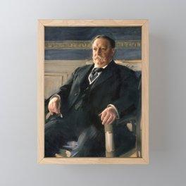 Anders Zorn - William Howard Taft Framed Mini Art Print