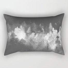 Chromatic Forest Nature Photography Rectangular Pillow