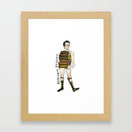 """Rupert """"Research"""" Giles Pin up Framed Art Print"""