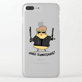 Arnold Schwarzenugget Clear iPhone Case