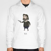 rick grimes Hoodies featuring The Walking Dead, Rick Grimes by Jarvis Glasses