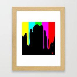 Colour Test Framed Art Print