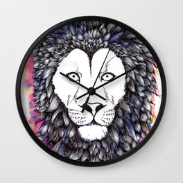 Lion Heart Wall Clock