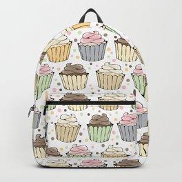 Cupcake Love Pattern -Food Pattern Backpack