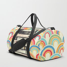 VHS & Rainbows Duffle Bag
