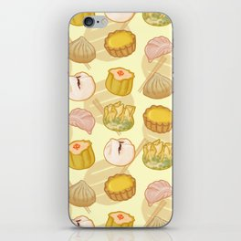 Dimsum everywhere! [yellow] iPhone Skin