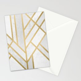 Art Deco Geometry 2 Stationery Cards