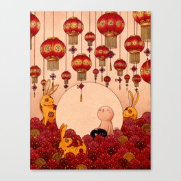 Mid Autumn Festival Canvas Print