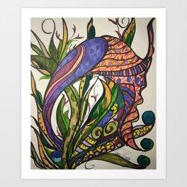 The Snail Art Print