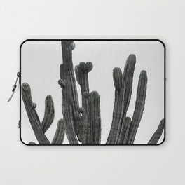Black and White Cactus Laptop Sleeve