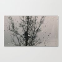 depression Canvas Prints featuring Depression by EarthyMoonArts