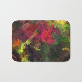 Colorful splash Bath Mat