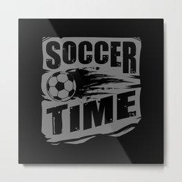 Soccer Player Metal Print