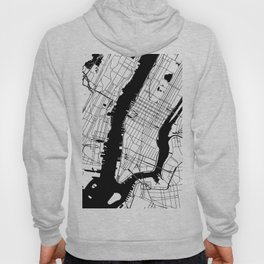 New York City Minimal Map Hoody