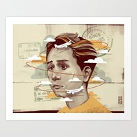 Adnan Art Print