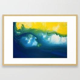 Aussie Beach Series Framed Art Print