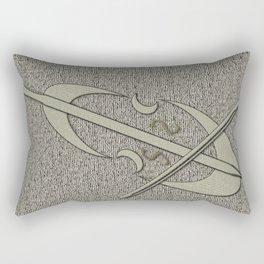 Giant Silver Cello Rectangular Pillow