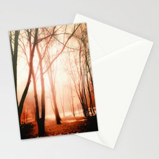 October Snow Stationery Cards