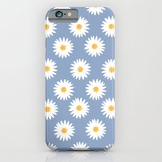 Blue daisy pattern Slim Case iPhone 6