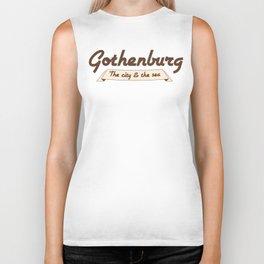 Gothenburg - The city & the sea Biker Tank