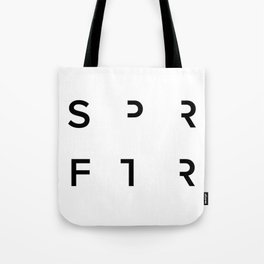 SPRFTR Heart Tote Bag
