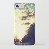texas iPhone & iPod Cases featuring Texas by Camille Renee