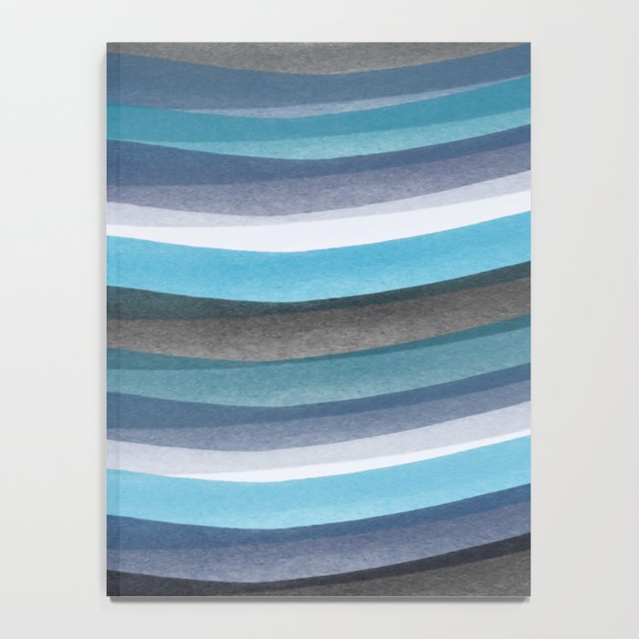 Blue lines Notebook
