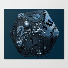 The Polyhedral of many universes  Canvas Print