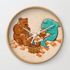 Awkward Picnic Wall Clock