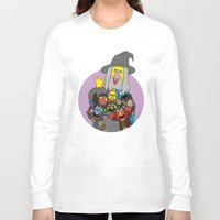 elmo Long Sleeve T-shirts featuring Can you tell me how to get to Erebor? by Mhyin