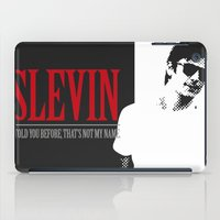 scarface iPad Cases featuring Lucky Scarface Slevin. by Agu Luque