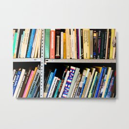 Books, Books and More Books Metal Print