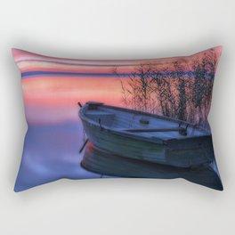 Boat View Rectangular Pillow