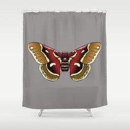 Cecropia Moth Shower Curtain