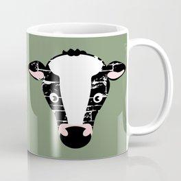 Cute Cow Face Coffee Mug