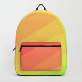 Happy Colorful Rainbow Stripes Backpack