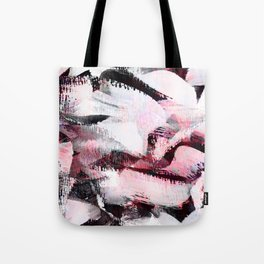 abstract painting with a little pink shade Tote Bag