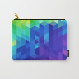 Abstract LGBT Pattern Carry-All Pouch