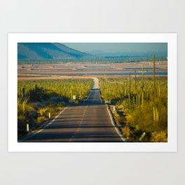 Carretera Art Print