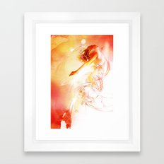 The Surface of the Sun Framed Art Print