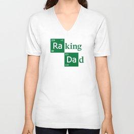 Raking Dad Unisex V-Neck