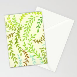 Leaves, 2 Stationery Cards