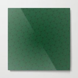 derived of triangle in green Metal Print