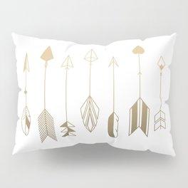 Be Brave Little Arrow (gold) Pillow Sham